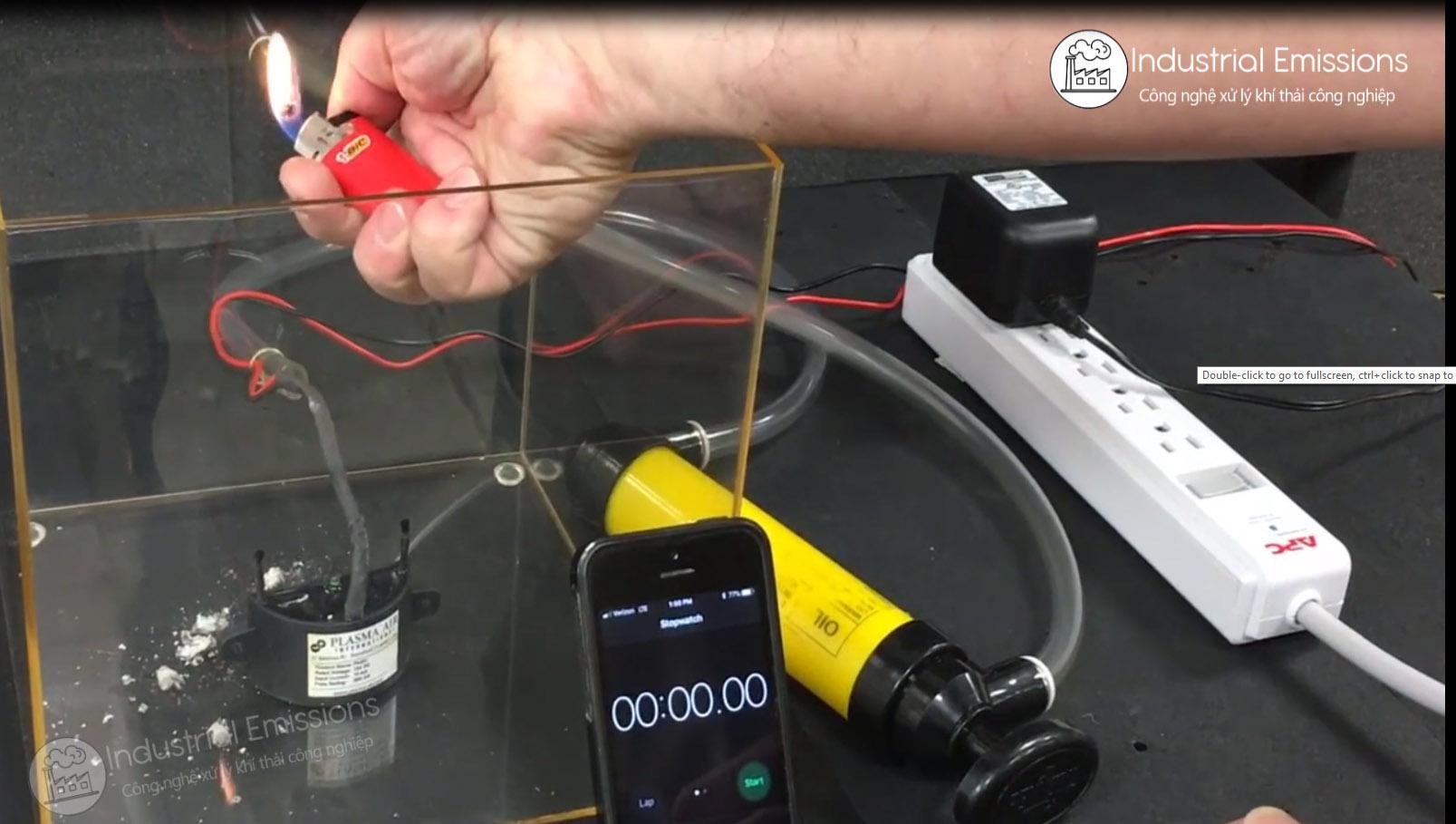 Công nghệ Ion / Ion Âm có khử được khói hoặc khói thuốc lá